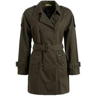 Khujo INESSA Trenchcoat Damen khaki