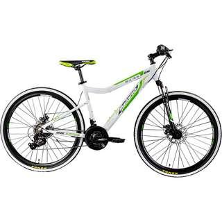 "Galano GX-26 Mountainbike 26"" Fahrrad MTB Hardtail weiß/grün"
