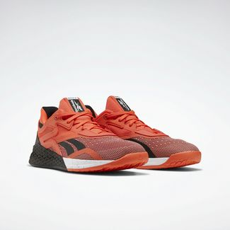Reebok Fitnessschuhe Herren Vivid Orange / Black / White