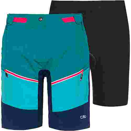 CMP Free Bike Bermuda with inner Mesh UW Fahrradshorts Damen lake