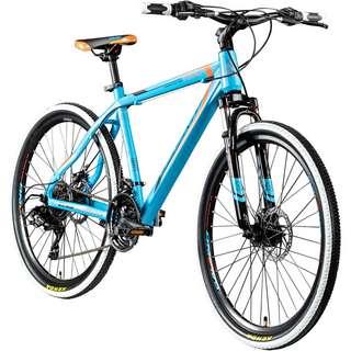 "Galano Toxic 26"" Mountainbike Hardtail MTB Hardtail blau/orange"