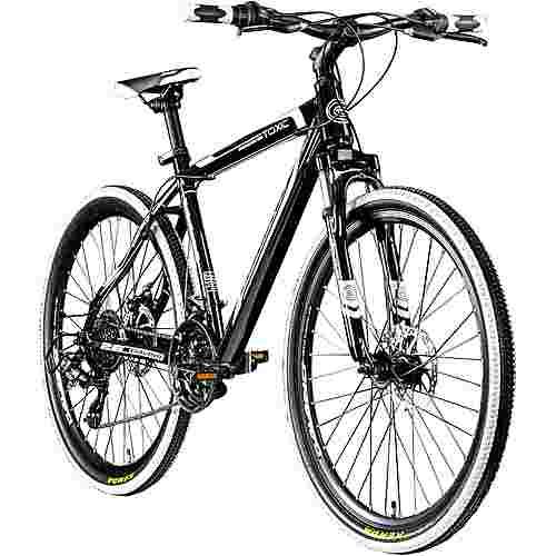 """Galano Toxic 26"""" Mountainbike Hardtail MTB Hardtail schwarz/weiß"""