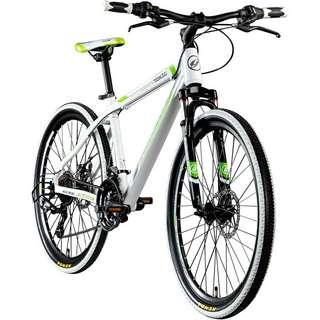 """Galano Toxic 26"""" Mountainbike Hardtail MTB Hardtail weiß/grün/schwarz"""