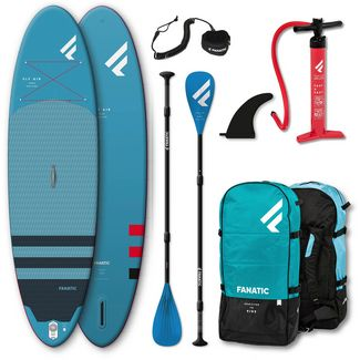 """FANATIC Package Fly Air/ Pure 10'4"""" SUP Sets blau"""