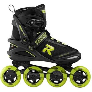 ROCES PIC TIF Inline-Skates black-lime