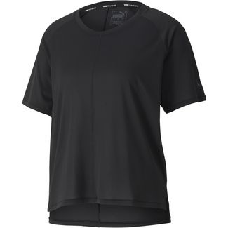 PUMA Yoga Funktionsshirt Damen puma black