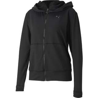 PUMA Yoga Sweatjacke Damen puma black