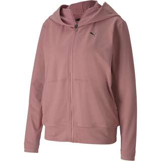 PUMA Yoga Sweatjacke Damen foxglove heather