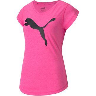 PUMA Funktionsshirt Damen luminous pink heather
