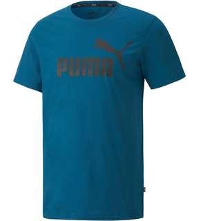PUMA Ess Logo T-Shirt Herren digi-blue