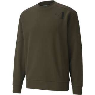 PUMA Tilty Sweatshirt Herren forest night