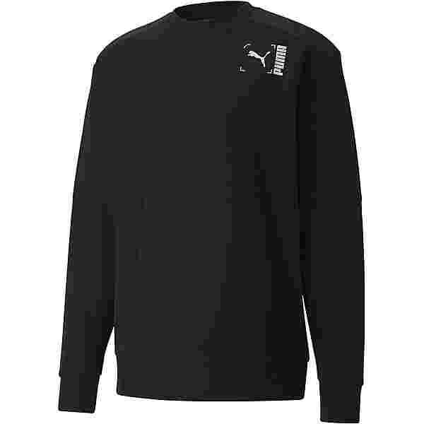 PUMA Tilty Sweatshirt Herren puma black
