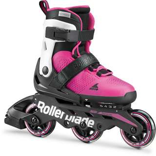 ROLLERBLADE MICROBLADE 3WD G Inline-Skates Kinder white-pink