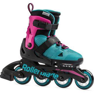 ROLLERBLADE MICROBLADE G Inline-Skates Kinder pink-emerald green