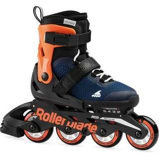 ROLLERBLADE MICROBLADE Inline-Skates Kinder midnight blue-warm orange