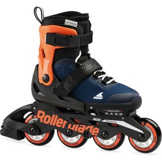 ROLLERBLADE MICROBLADE Inline-Skates Kinder midnight blue-warm orange