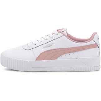PUMA Carina L Jr Sneaker Kinder puma white-peachskin