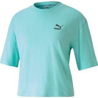 PUMA TFS T-Shirt Damen aruba blue