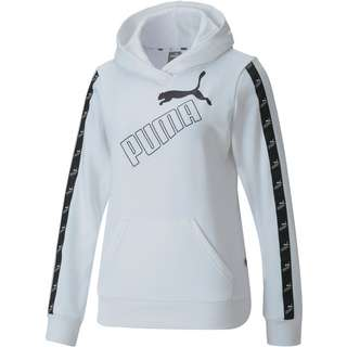 PUMA Amplified Hoodie Damen puma white