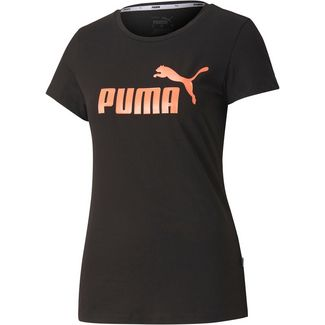 PUMA T-Shirt Damen puma black-nrgy peach