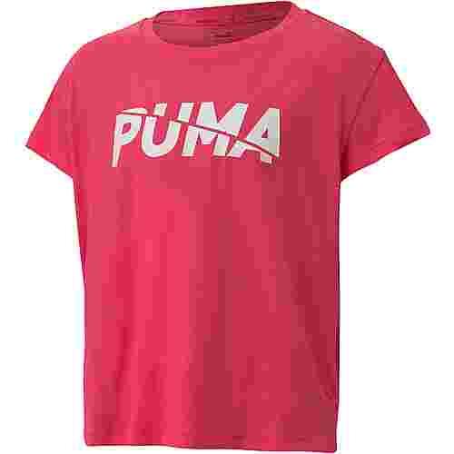 PUMA T-Shirt Kinder glowing pink