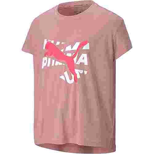 PUMA T-Shirt Kinder foxglove