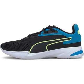 PUMA Jaro Jr Sneaker Kinder puma black-sharp green-dresden blue