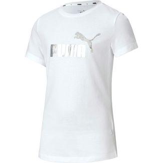 PUMA T-Shirt Kinder puma white