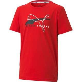 PUMA T-Shirt Kinder high risk red