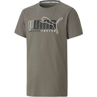 PUMA T-Shirt Kinder ultra gray