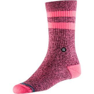 Stance Joven Sneakersocken Damen pink-black