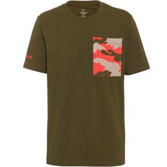 Calvin Klein T-Shirt Herren grape leaf camo