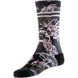Stance La vie en Rose Crew Sneakersocken Damen black-rose