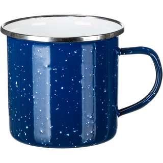 RELAGS Emaille Tasse 360ml Campinggeschirr blau