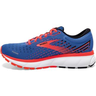 Brooks Ghost 13 Laufschuhe Damen blue-coral-white