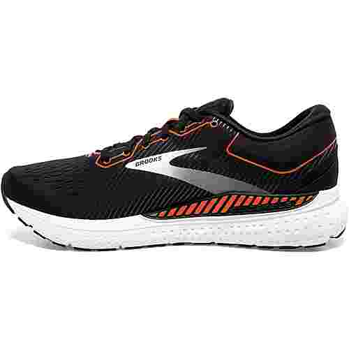 Brooks Transcend 7 Laufschuhe Herren black-cherry tomato-white