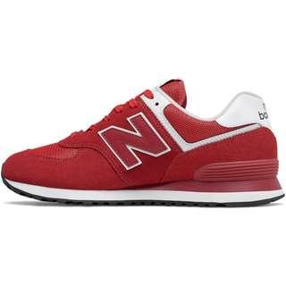 NEW BALANCE ML574 Sneaker Herren red