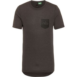 SCOTT Trail Flow Dri s/sl Funktionsshirt Herren dark grey