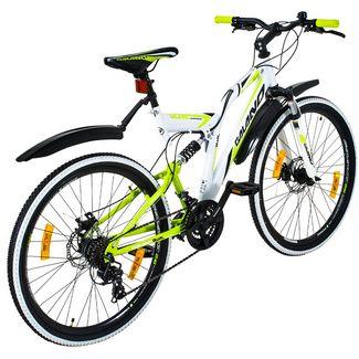 Galano Volt DS 26 Zoll Fully Jugendrad MTB Hardtail weiß/grün