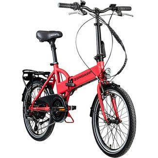 Zündapp Zündapp Z101 20 Zoll E-Bike Klapprad E-Bike gambia rot
