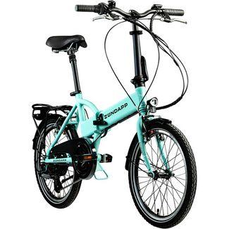 Zündapp Zündapp Z101 20 Zoll E-Bike Klapprad E-Bike hellgrün