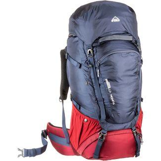 Mc Kinley Da.Trek-Rucksack Yukon CT 50W+10 Vario Trekkingrucksack Damen navydark-reddark