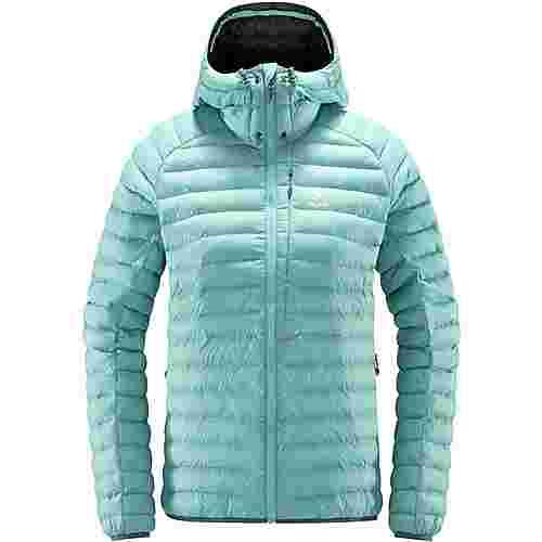 Haglöfs Essens Mimic Hood Outdoorjacke Damen Glacier green