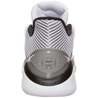 adidas Harden Stepback Basketballschuhe Herren weiß / grau