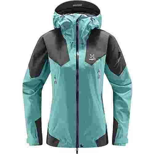 Haglöfs GORE-TEX® Roc Spire Jacket Hardshelljacke Damen Glacier green/magnetite
