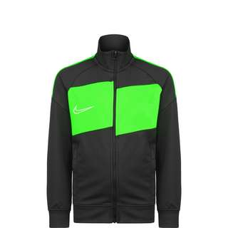Nike Academy Trainingsjacke Kinder anthrazit / neongrün