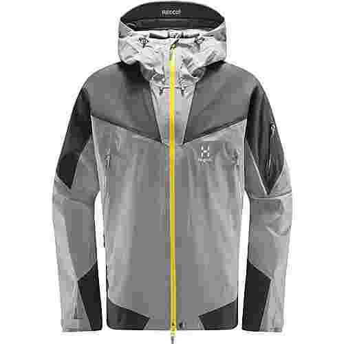 Haglöfs GORE-TEX® Roc Spire Jacket Hardshelljacke Herren Concrete/magnetite