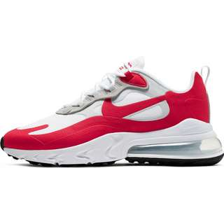 Nike Air Max 270 React Sneaker Herren white-university red-pure platinum-black