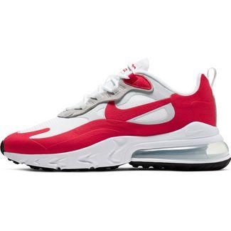 Nike Air Max 270 React Sneaker Herren white-university red-pure platinum-black