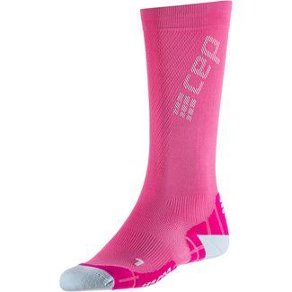 CEP Ultralight Compression Kompressionsstrümpfe Damen electric pink/light grey